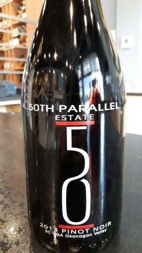 50th parallell wine
