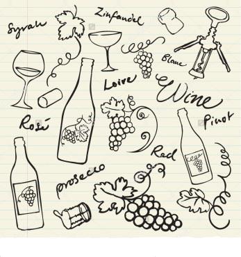 grapes-doodle